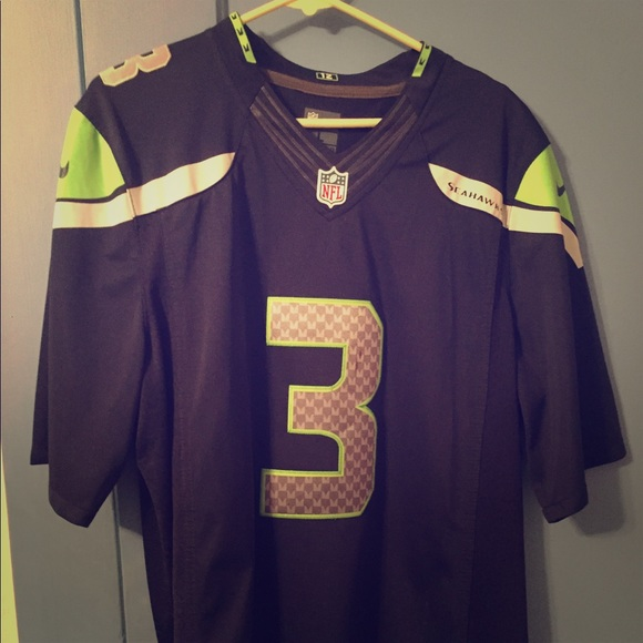 official photos 2af54 ee674 Seattle Seahawks, Russell Wilson jersey l